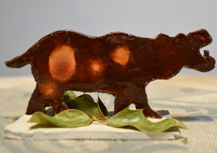 Hippopotame à poser